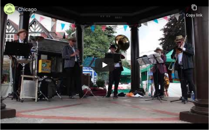Live jazz in Enfield Town